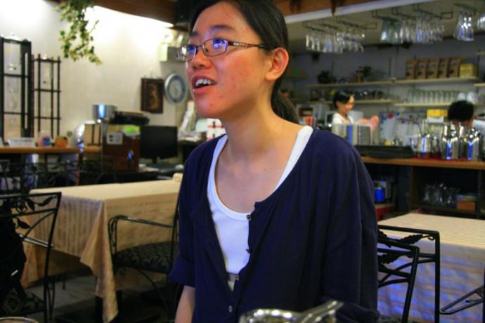 「我一直覺得在2012年秋天旺報被收購這件事之前,臺灣一直處在沈睡中的狀態,用我自己的話說就是,臺灣還沒有從馬英九的神話醒過來。」(攝影 / 許鈺羚)